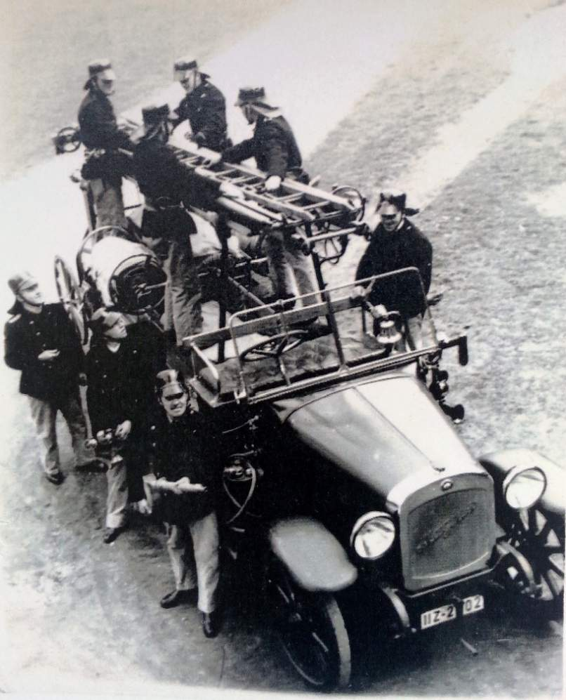 Motorkraftspritze Typ Bayern