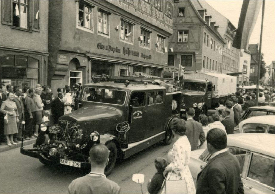 LK beim Jubiläum 100 Jahre FF-Memmingen