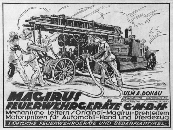Zeitung für Feuerlöschwesen 1921