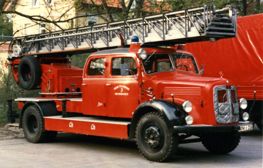 IG alter Memminger Feuerwehr Fahrzeuge e.V. - DL25 - vor der Restauration