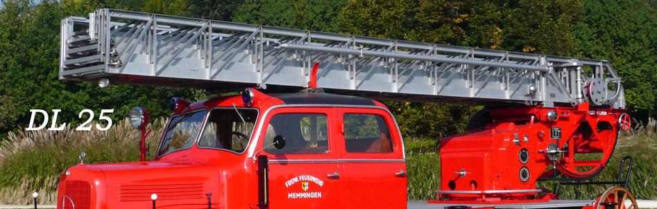 IG alter Memminger Feuerwehr Fahrzeuge e.V. - DL 25
