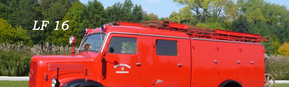 IG alter Memminger Feuerwehr Fahrzeuge e.V. - LF 16