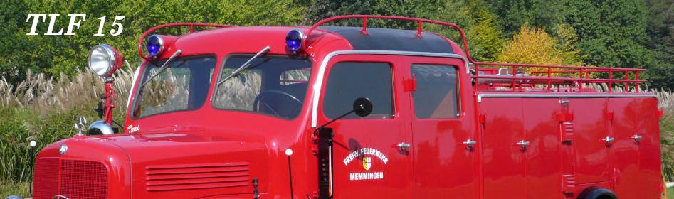 IG alter Memminger Feuerwehr Fahrzeuge e.V. - TLF 15