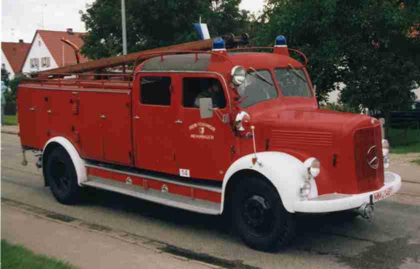 IG alter Memminger Feuerwehr Fahrzeuge e.V. - Tanklöschfahrzeug 15 vor der Restaurierung