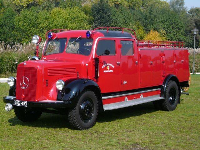 IG alter Memminger Feuerwehr Fahrzeuge e.V. - Tanklöschfahrzeug 15