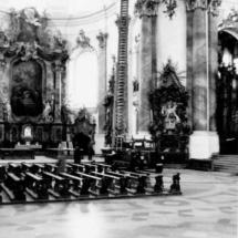 Drehleiter in der Basilika Ottobeuren
