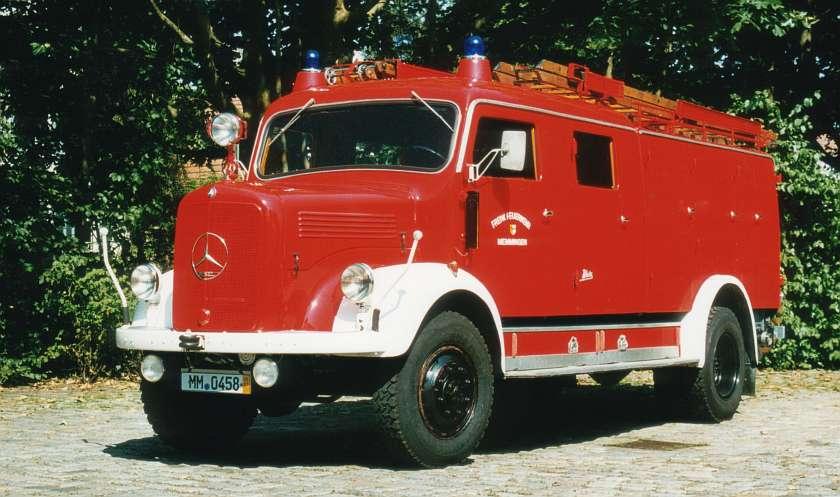 Löschgruppenfahrzeug 16, Baujahr 1956